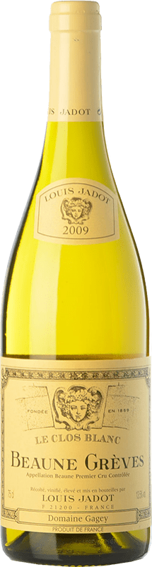 59,95 € | White wine Louis Jadot Grèves Le Clos Blanc Crianza 2009 A.O.C. Beaune Burgundy France Chardonnay Bottle 75 cl