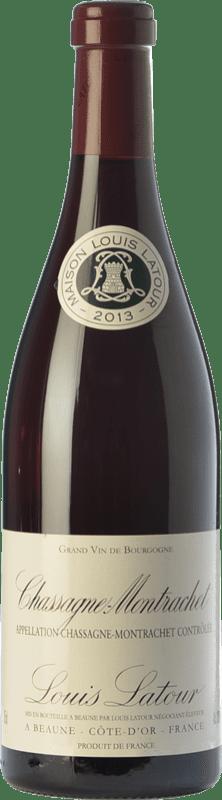 49,95 € 免费送货 | 红酒 Louis Latour Chassagne-Montrachet Rouge Crianza A.O.C. Côte de Beaune 勃艮第 法国 Pinot Black 瓶子 75 cl