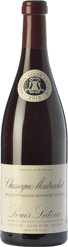 49,95 € Free Shipping | Red wine Louis Latour Chassagne-Montrachet Rouge Crianza A.O.C. Côte de Beaune Burgundy France Pinot Black Bottle 75 cl