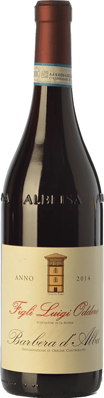 21,95 € Free Shipping | Red wine Luigi Oddero D.O.C. Barbera d'Alba Piemonte Italy Barbera Bottle 75 cl