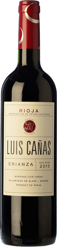 12,95 € | Red wine Luis Cañas Crianza D.O.Ca. Rioja The Rioja Spain Tempranillo, Grenache Bottle 75 cl