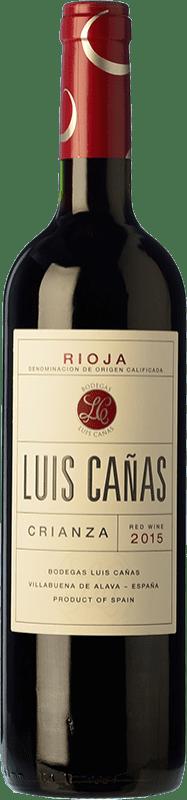 11,95 € Envoi gratuit | Vin rouge Luis Cañas Crianza D.O.Ca. Rioja La Rioja Espagne Tempranillo, Grenache Bouteille 75 cl