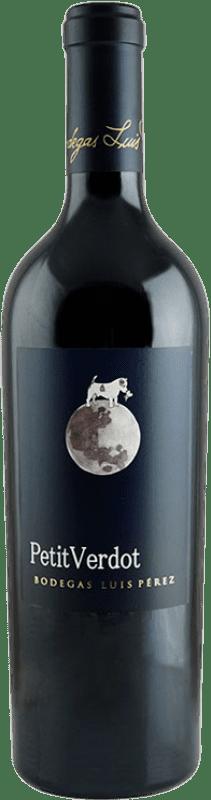 68,95 € Free Shipping | Red wine Luis Pérez Crianza I.G.P. Vino de la Tierra de Cádiz Andalusia Spain Petit Verdot Bottle 75 cl