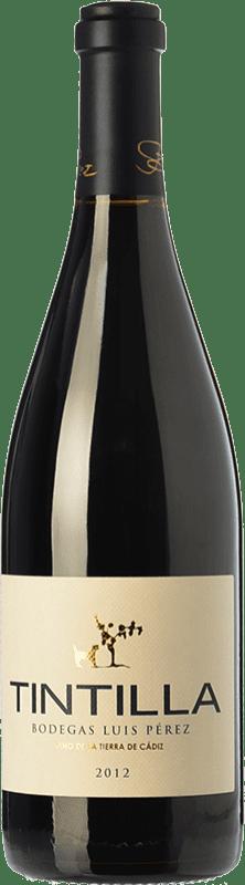 19,95 € Free Shipping | Red wine Luis Pérez Crianza I.G.P. Vino de la Tierra de Cádiz Andalusia Spain Tintilla Bottle 75 cl