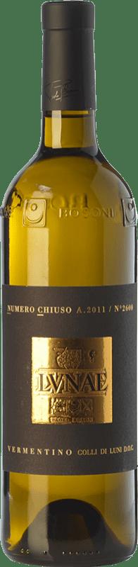 38,95 € Free Shipping | White wine Lunae Numero Chiuso D.O.C. Colli di Luni Liguria Italy Vermentino Bottle 75 cl