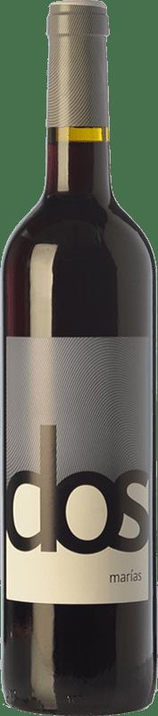 8,95 € Envío gratis | Vino tinto Macià Batle Dos Marías Roble D.O. Binissalem Islas Baleares España Merlot, Syrah, Cabernet Sauvignon, Mantonegro Botella 75 cl
