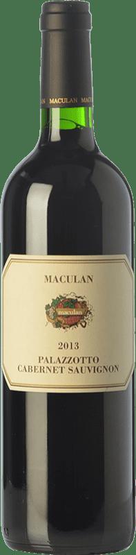 18,95 € | Red wine Maculan Palazzotto D.O.C. Breganze Veneto Italy Cabernet Sauvignon Bottle 75 cl