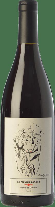 16,95 € Free Shipping | Red wine Maldivinas La Movida Canalla Crianza I.G.P. Vino de la Tierra de Castilla y León Castilla y León Spain Grenache Bottle 75 cl