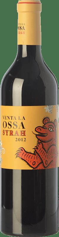 12,95 € Envío gratis | Vino tinto Mano a Mano Venta La Ossa Crianza I.G.P. Vino de la Tierra de Castilla Castilla la Mancha España Syrah Botella 75 cl