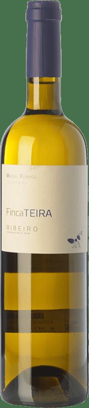 13,95 € Free Shipping | White wine Formigo Finca Teira D.O. Ribeiro Galicia Spain Torrontés, Godello, Treixadura Bottle 75 cl