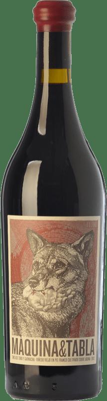 18,95 € Envío gratis | Vino tinto Máquina & Tabla Crianza D.O. Toro Castilla y León España Tempranillo, Garnacha Botella 75 cl