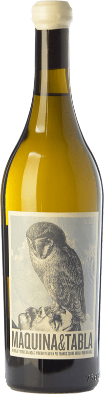 16,95 € Envío gratis | Vino blanco Máquina & Tabla Crianza D.O. Rueda Castilla y León España Verdejo Botella 75 cl