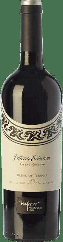 29,95 € Envío gratis | Vino tinto Pelleriti Selection Blend of Terroir Reserva I.G. Valle de Uco Valle de Uco Argentina Cabernet Franc, Malbec, Petit Verdot Botella 75 cl