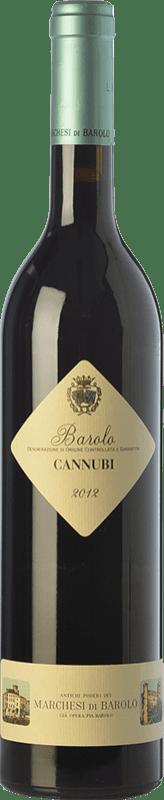 55,95 € Free Shipping | Red wine Marchesi di Barolo Cannubi D.O.C.G. Barolo Piemonte Italy Nebbiolo Bottle 75 cl