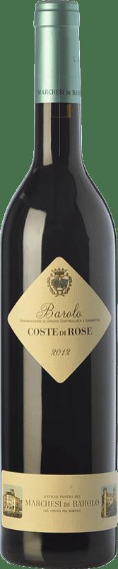 37,95 € Free Shipping | Red wine Marchesi di Barolo Coste di Rose D.O.C.G. Barolo Piemonte Italy Nebbiolo Bottle 75 cl