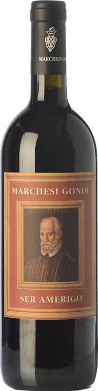 19,95 € | Red wine Marchesi Gondi Ser Amerigo I.G.T. Colli della Toscana Centrale Tuscany Italy Merlot, Sangiovese, Colorino Bottle 75 cl