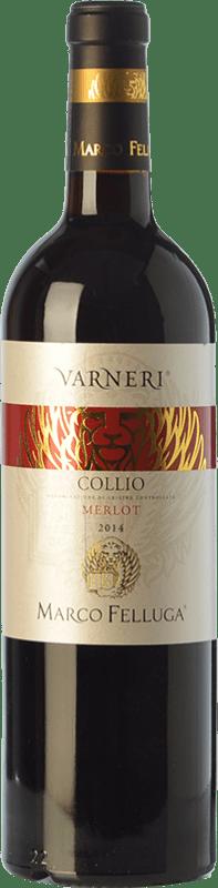 14,95 € | Red wine Marco Felluga Varneri D.O.C. Collio Goriziano-Collio Friuli-Venezia Giulia Italy Merlot Bottle 75 cl