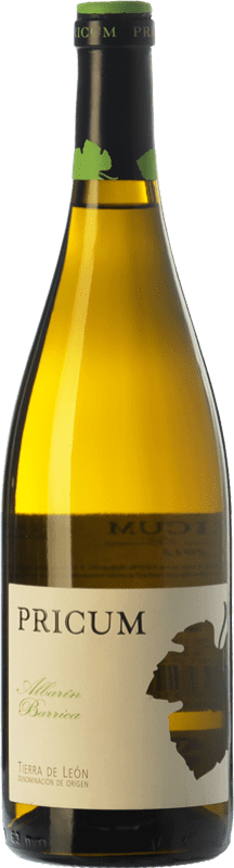 18,95 € 免费送货 | 白酒 Margón Pricum Barrica Crianza D.O. Tierra de León 卡斯蒂利亚莱昂 西班牙 Albarín 瓶子 75 cl