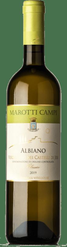 4,95 €   White wine Marotti Campi Albiano Joven D.O.C. Verdicchio dei Castelli di Jesi Marche Italy Verdicchio Bottle 75 cl