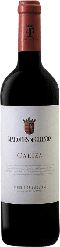 Envío gratis | Vino tinto Marqués de Griñón Caliza Joven 2013 D.O.P. Vino de Pago Dominio de Valdepusa Castilla la Mancha España Syrah, Petit Verdot Botella 75 cl