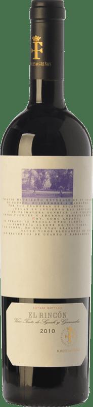 Free Shipping | Red wine Marqués de Griñón El Rincón Crianza 2013 D.O. Vinos de Madrid Madrid's community Spain Syrah, Grenache Bottle 75 cl