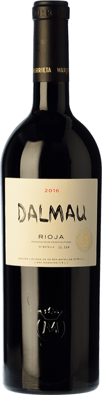 71,95 € Free Shipping | Red wine Marqués de Murrieta Dalmau Reserva D.O.Ca. Rioja The Rioja Spain Tempranillo, Cabernet Sauvignon, Graciano Bottle 75 cl