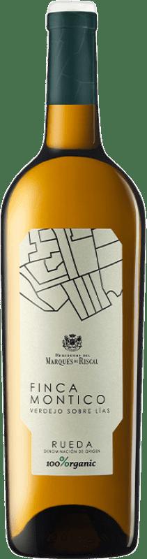 14,95 € Free Shipping | White wine Marqués de Riscal Finca Montico D.O. Rueda Castilla y León Spain Verdejo Bottle 75 cl