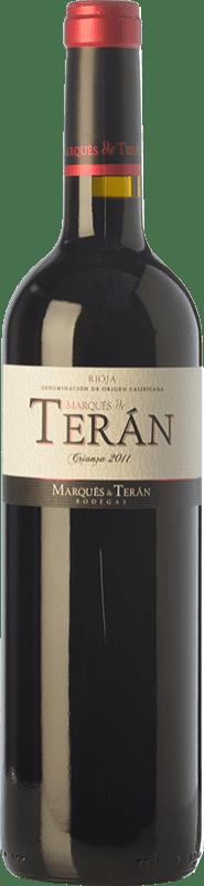 12,95 € Free Shipping | Red wine Marqués de Terán Crianza D.O.Ca. Rioja The Rioja Spain Tempranillo, Mazuelo Bottle 75 cl