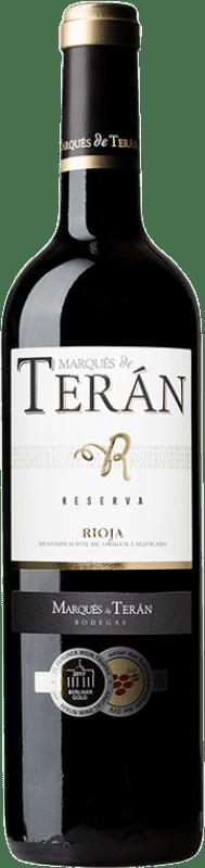 16,95 € Free Shipping | Red wine Marqués de Terán Reserva D.O.Ca. Rioja The Rioja Spain Tempranillo, Grenache, Mazuelo Bottle 75 cl