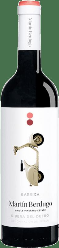 7,95 € | Red wine Martín Berdugo Barrica Joven D.O. Ribera del Duero Castilla y León Spain Tempranillo Bottle 75 cl