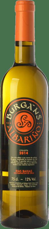 9,95 € | White wine Martín Códax Burgáns D.O. Rías Baixas Galicia Spain Albariño Bottle 75 cl