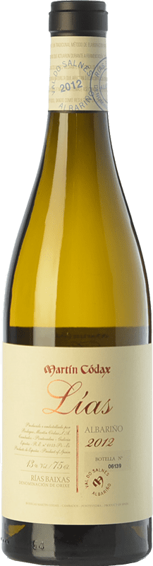 21,95 € 免费送货   白酒 Martín Códax Lías D.O. Rías Baixas 加利西亚 西班牙 Albariño 瓶子 75 cl