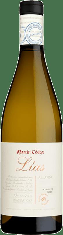 21,95 € | White wine Martín Códax Lías D.O. Rías Baixas Galicia Spain Albariño Bottle 75 cl