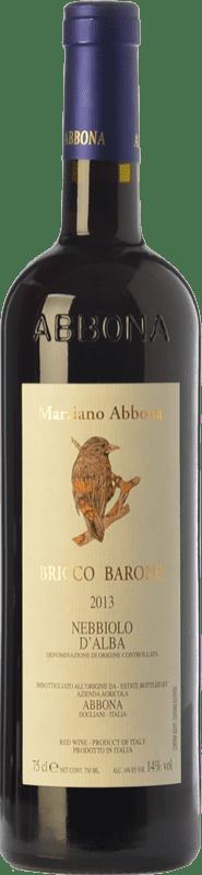 17,95 € | Red wine Abbona Bricco Barone D.O.C. Nebbiolo d'Alba Piemonte Italy Nebbiolo Bottle 75 cl