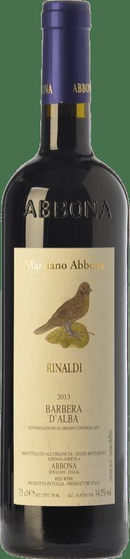 18,95 € | Red wine Abbona Rinaldi D.O.C. Barbera d'Alba Piemonte Italy Barbera Bottle 75 cl