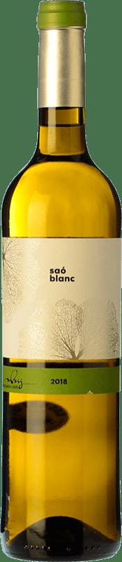 15,95 € Free Shipping | White wine Blanch i Jové Saó Blanc Fermentat en Barrica Crianza D.O. Costers del Segre Catalonia Spain Macabeo Bottle 75 cl