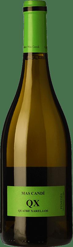 15,95 € Envoi gratuit | Vin blanc Mas Candí QX Quatre Xarel·los Crianza D.O. Penedès Catalogne Espagne Xarel·lo Bouteille 75 cl