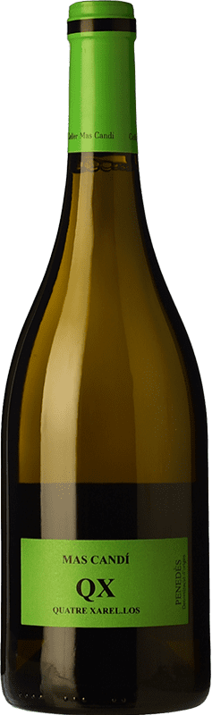 15,95 € | White wine Mas Candí QX Quatre Xarel·los Crianza D.O. Penedès Catalonia Spain Xarel·lo Bottle 75 cl