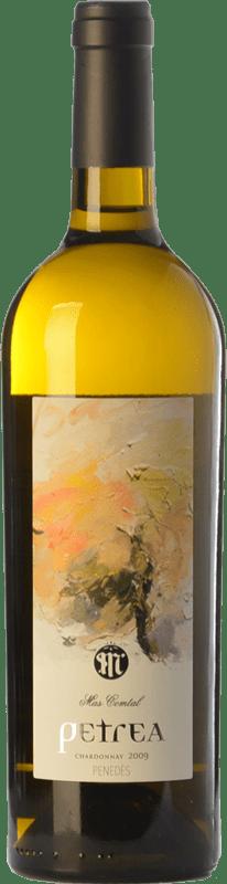 23,95 € Envío gratis | Vino blanco Mas Comtal Petrea Crianza D.O. Penedès Cataluña España Chardonnay Botella 75 cl