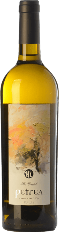23,95 € Free Shipping | White wine Mas Comtal Petrea Crianza D.O. Penedès Catalonia Spain Chardonnay Bottle 75 cl