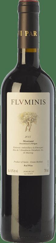 11,95 € Free Shipping | Red wine Mas de l'Abundància Fluminis Joven D.O. Montsant Catalonia Spain Grenache, Cabernet Sauvignon, Carignan Bottle 75 cl