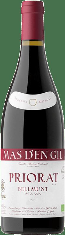 18,95 € Free Shipping | Red wine Mas d'en Gil Vi de Vila Bellmunt Crianza D.O.Ca. Priorat Catalonia Spain Grenache, Cabernet Sauvignon, Carignan Bottle 75 cl