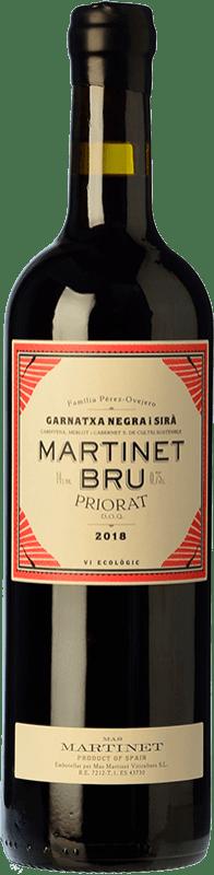 24,95 € Free Shipping | Red wine Mas Martinet Bru Crianza D.O.Ca. Priorat Catalonia Spain Syrah, Grenache Bottle 75 cl