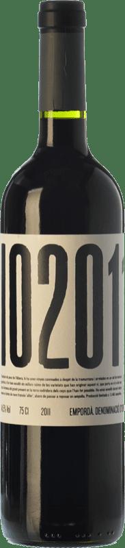 11,95 € Free Shipping | Red wine Masia Serra Io Crianza D.O. Empordà Catalonia Spain Merlot, Grenache, Cabernet Sauvignon, Cabernet Franc Bottle 75 cl