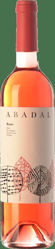 8,95 € Envío gratis | Vino rosado Masies d'Avinyó Abadal Rosat D.O. Pla de Bages Cataluña España Cabernet Sauvignon, Sumoll Botella 75 cl