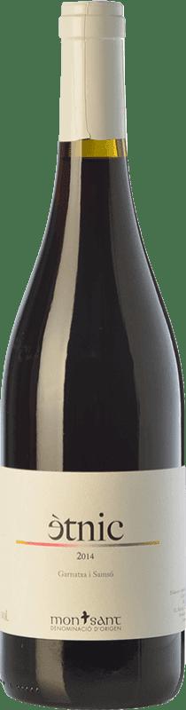 13,95 € Envío gratis | Vino tinto Masroig Ètnic Crianza D.O. Montsant Cataluña España Garnacha, Cariñena Botella 75 cl