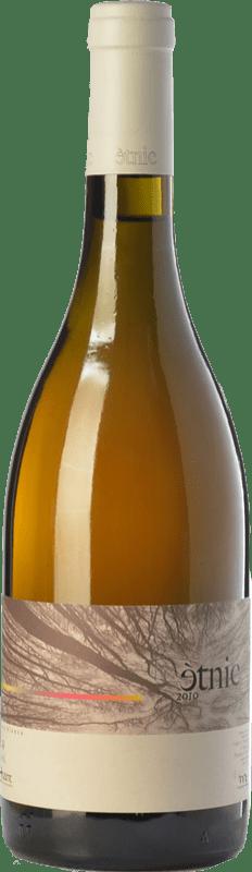 13,95 € Envío gratis | Vino blanco Masroig Ètnic Blanc Crianza D.O. Montsant Cataluña España Garnacha Blanca Botella 75 cl