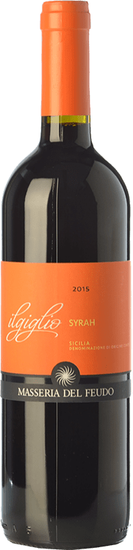 9,95 € | Red wine Masseria del Feudo I.G.T. Terre Siciliane Sicily Italy Syrah Bottle 75 cl