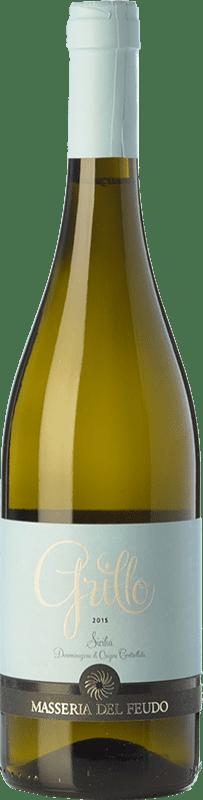 9,95 € | White wine Masseria del Feudo I.G.T. Terre Siciliane Sicily Italy Grillo Bottle 75 cl