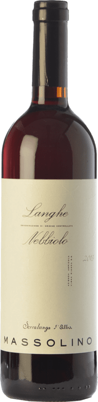 21,95 € 免费送货   红酒 Massolino D.O.C. Langhe 皮埃蒙特 意大利 Nebbiolo 瓶子 75 cl